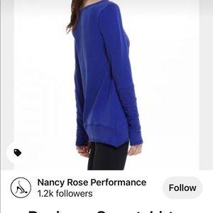 Nancy Rose performance essential sweatshirt
